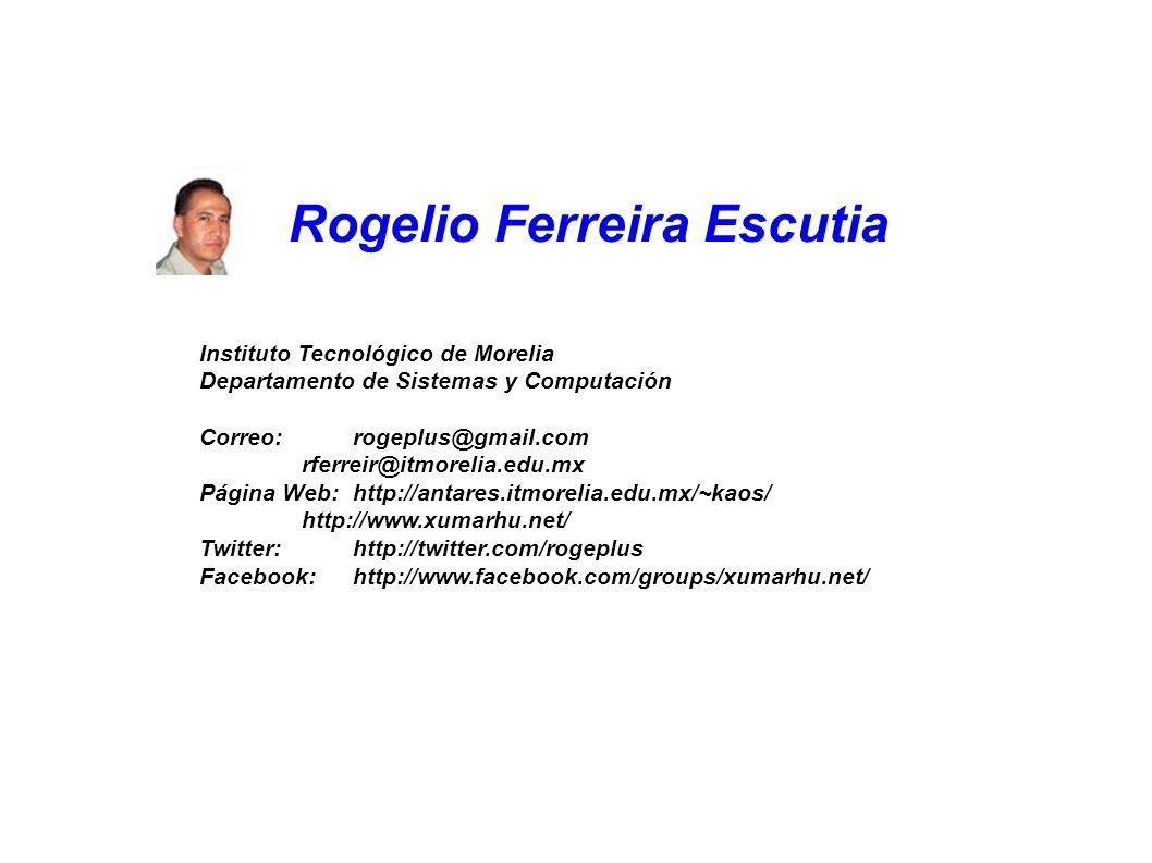 Te estamos Esperando!!! Rogelio Ferreira Escutia