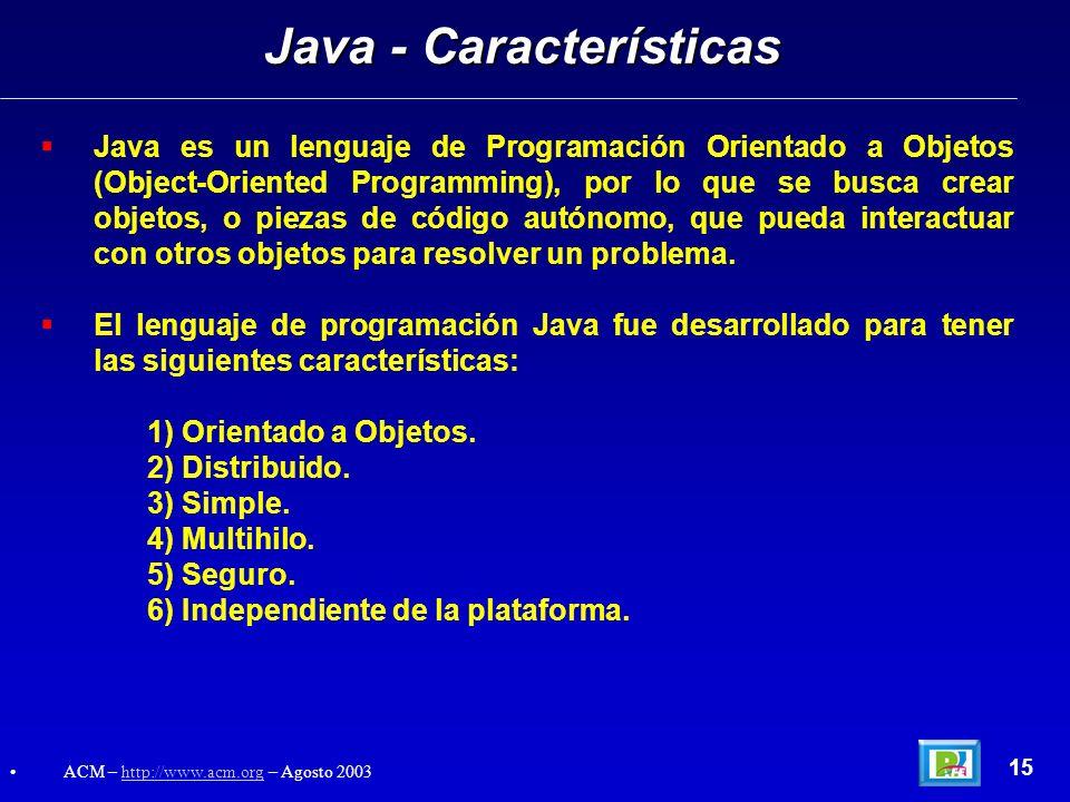 Java - Características