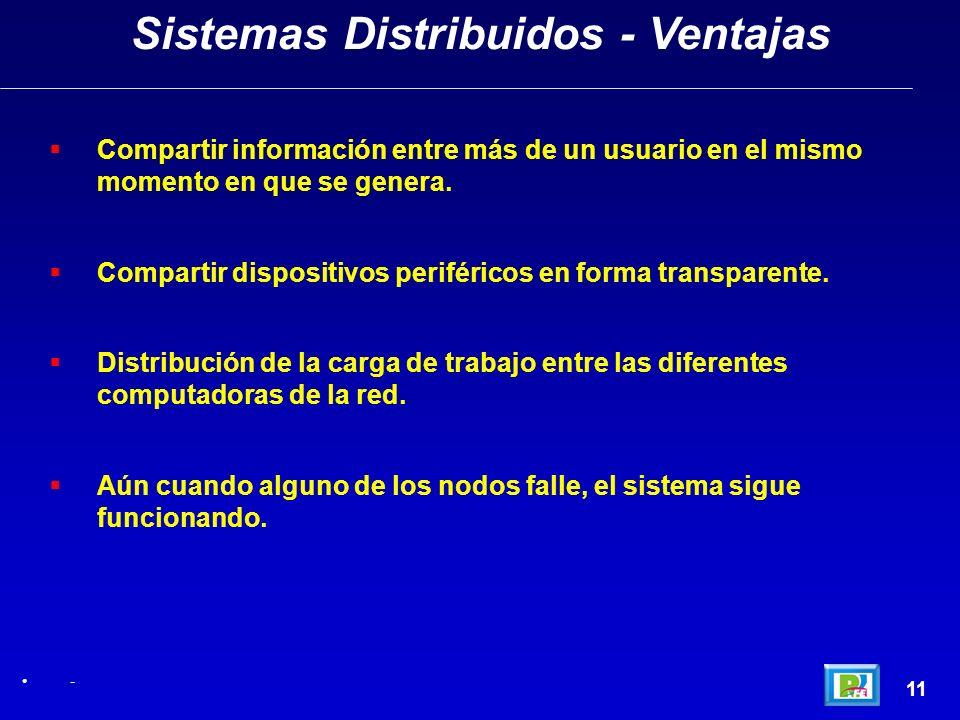 Sistemas Distribuidos - Ventajas