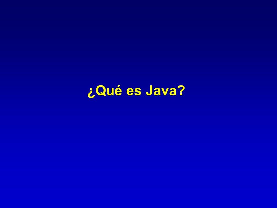 ¿Qué es Java