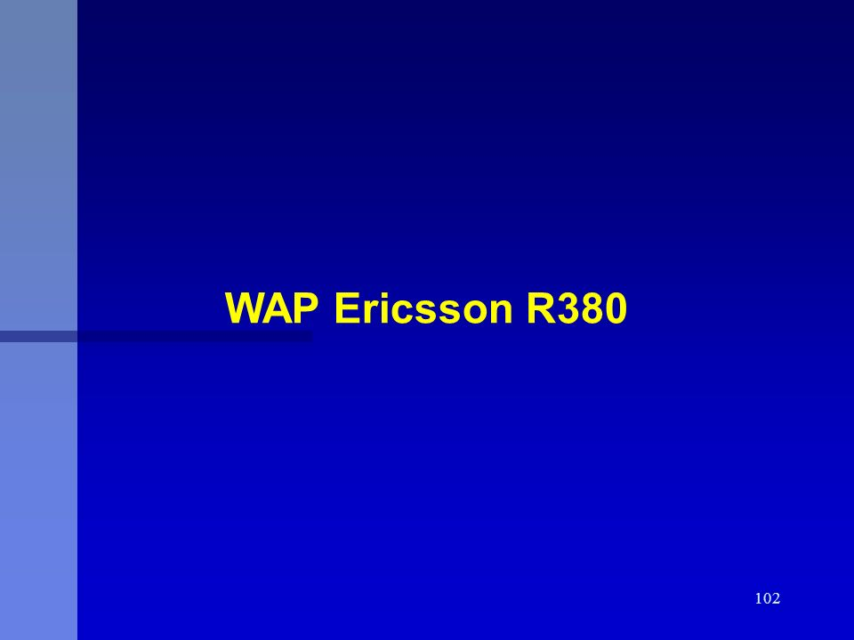WAP Ericsson R380