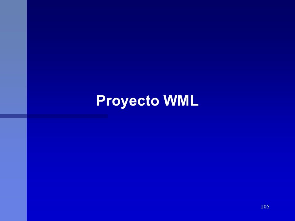 Proyecto WML