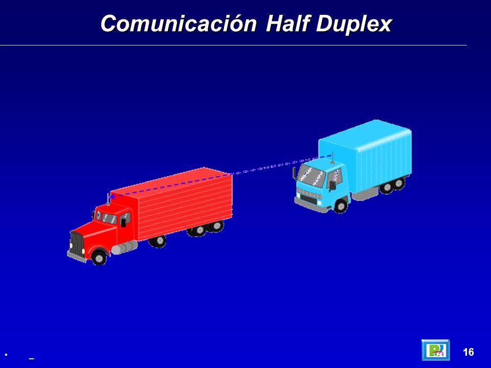 Comunicación Half Duplex