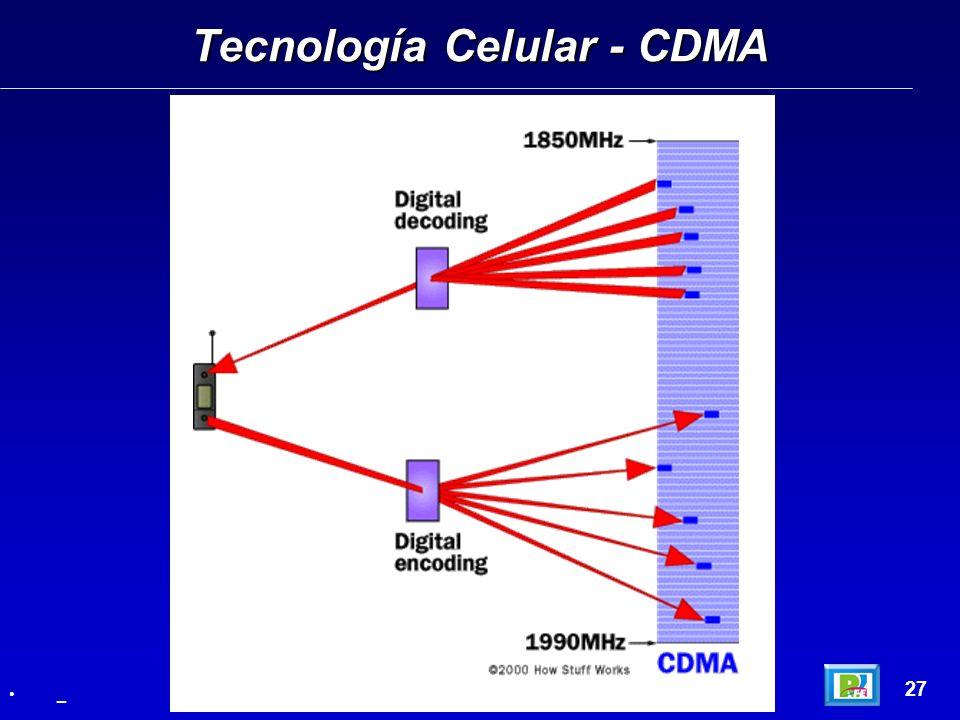 Tecnología Celular - CDMA