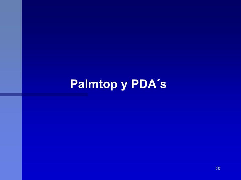 Palmtop y PDA´s