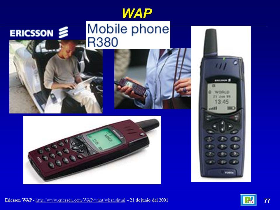 WAP 77 Ericsson WAP - http://www.ericsson.com/WAP/what/what.shtml - 21 de junio del 2001