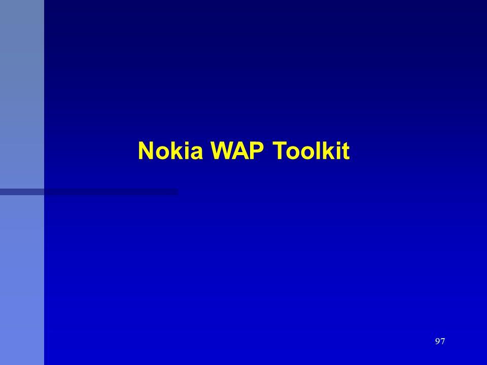 Nokia WAP Toolkit