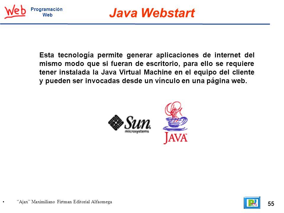 ProgramaciónWeb. Java Webstart.