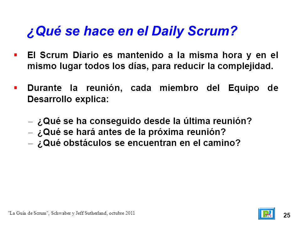 ¿Qué se hace en el Daily Scrum