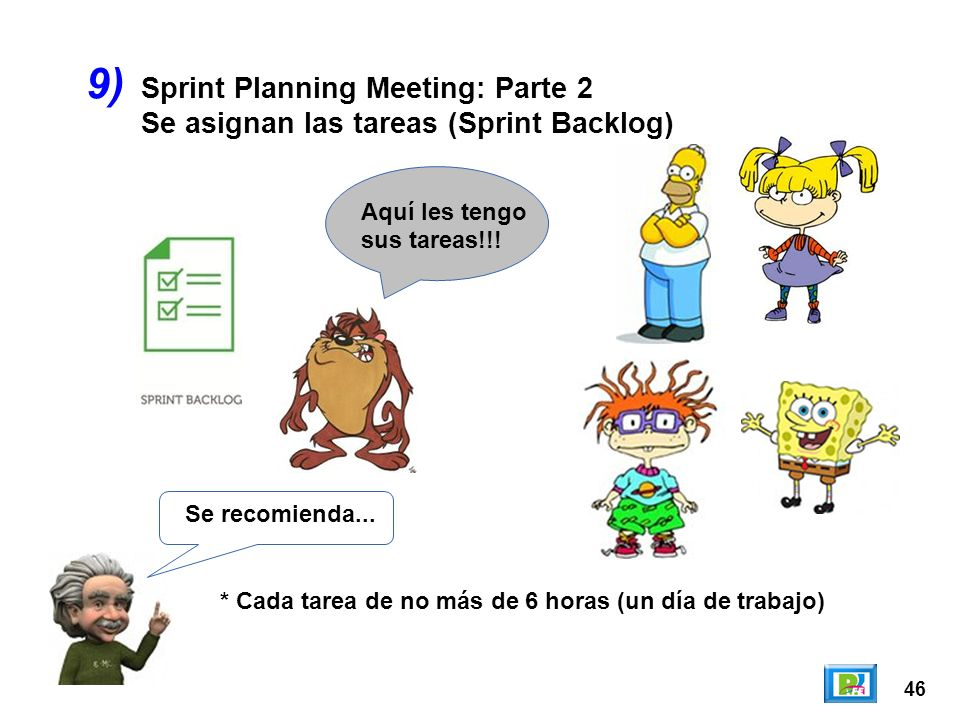 9) Sprint Planning Meeting: Parte 2