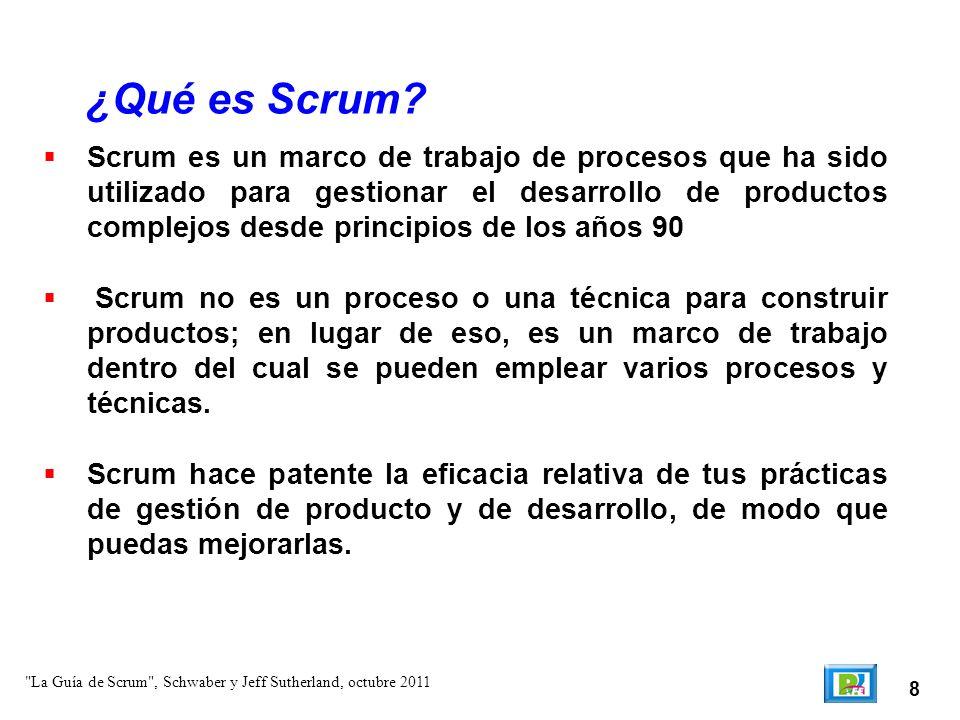 ¿Qué es Scrum