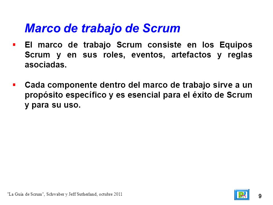 Marco de trabajo de Scrum