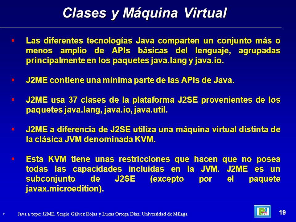Clases y Máquina Virtual