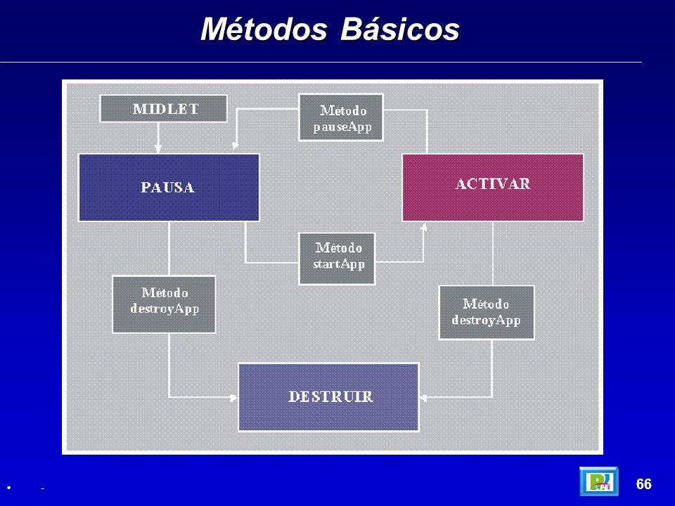 Métodos Básicos 66 -