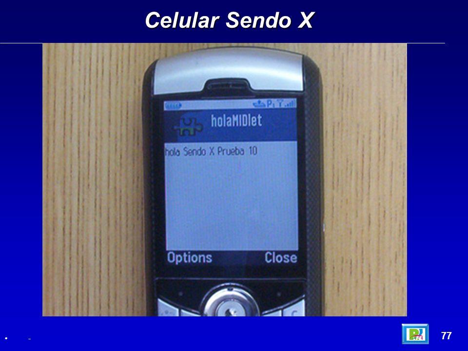 Celular Sendo X 77 -