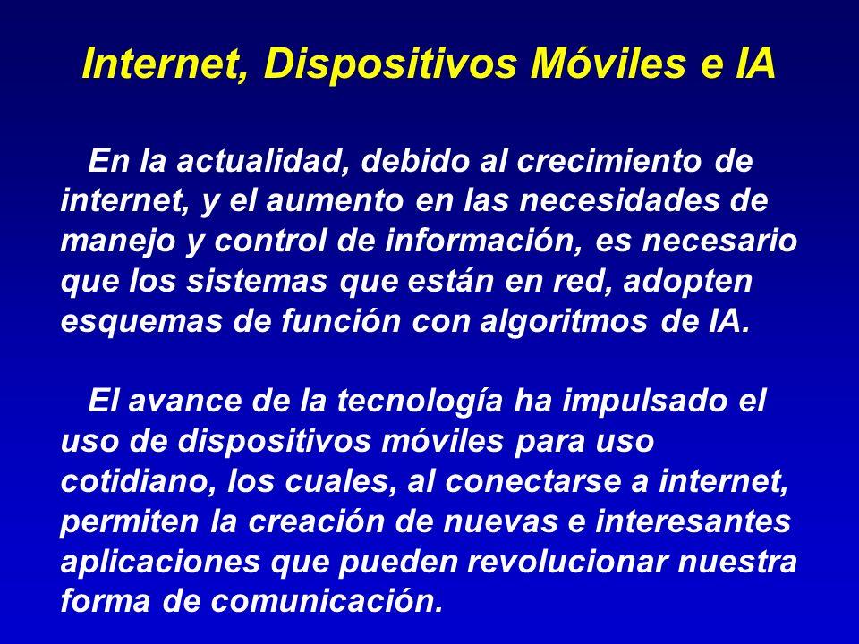 Internet, Dispositivos Móviles e IA