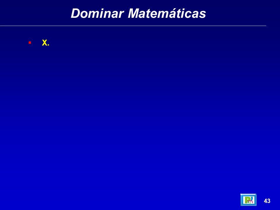 Dominar Matemáticas X. 43