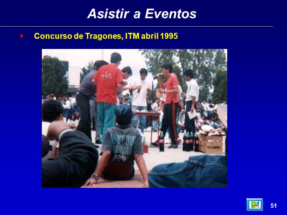 Asistir a Eventos Concurso de Tragones, ITM abril 1995 51