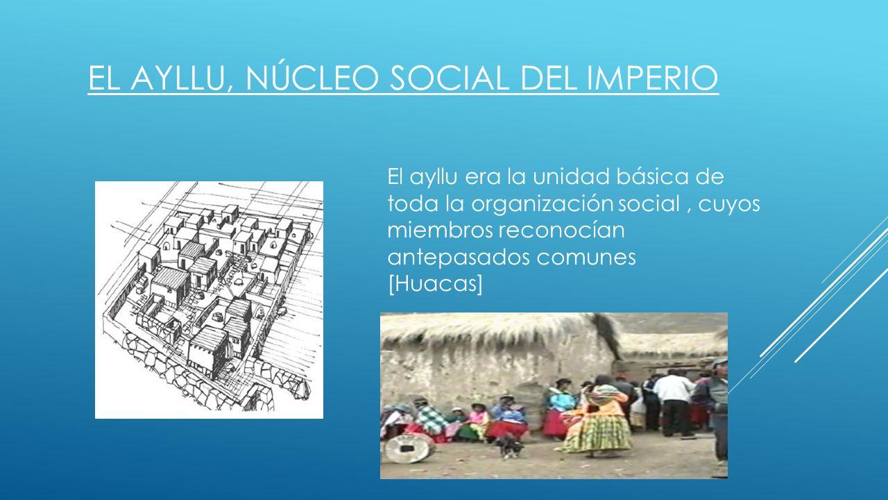 El ayllu, núcleo social del imperio