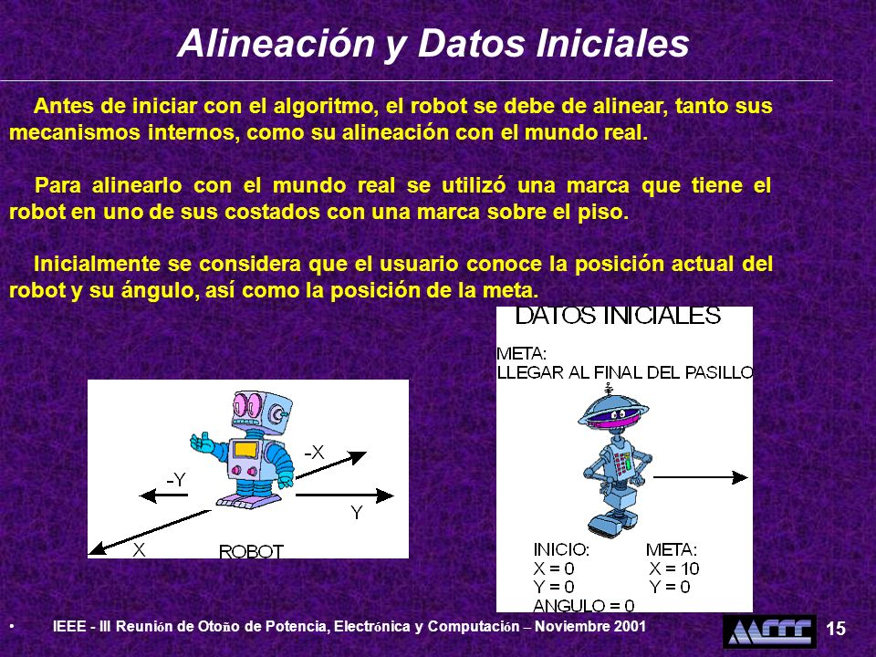 Alineación y Datos Iniciales