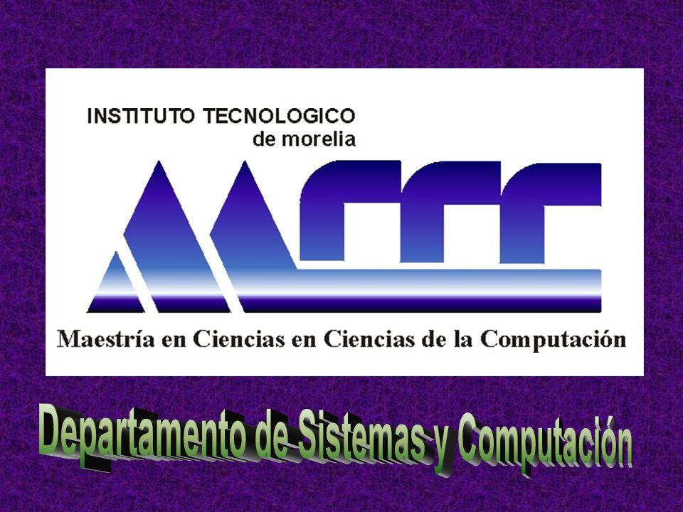 Departamento de Sistemas y Computación