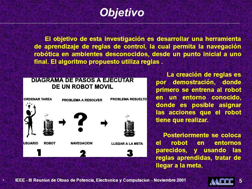 ObjetivoIEEE - III Reunión de Otoño de Potencia, Electrónica y Computación – Noviembre 2001. 5.