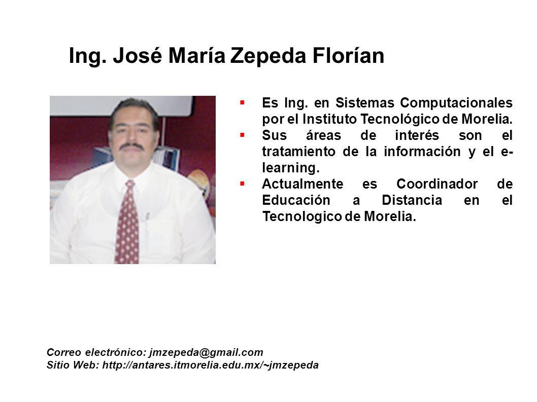 Ing. José María Zepeda Florían