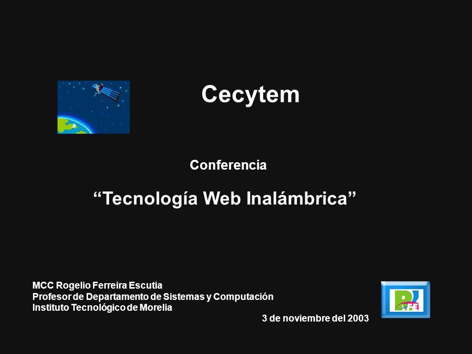 Tecnología Web Inalámbrica