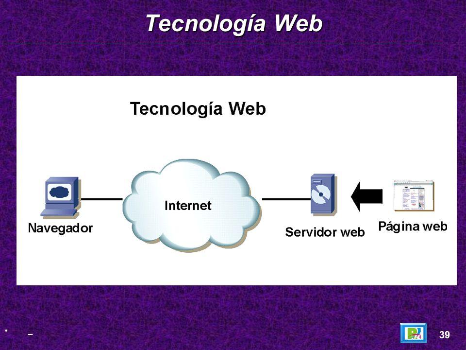Tecnología Web _ 39