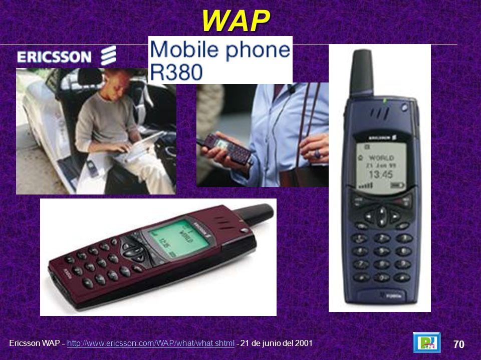 WAP 70 Ericsson WAP - http://www.ericsson.com/WAP/what/what.shtml - 21 de junio del 2001