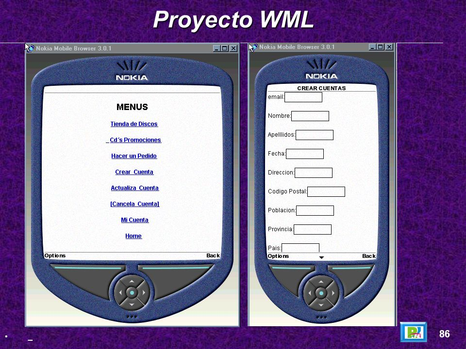 Proyecto WML 86 _