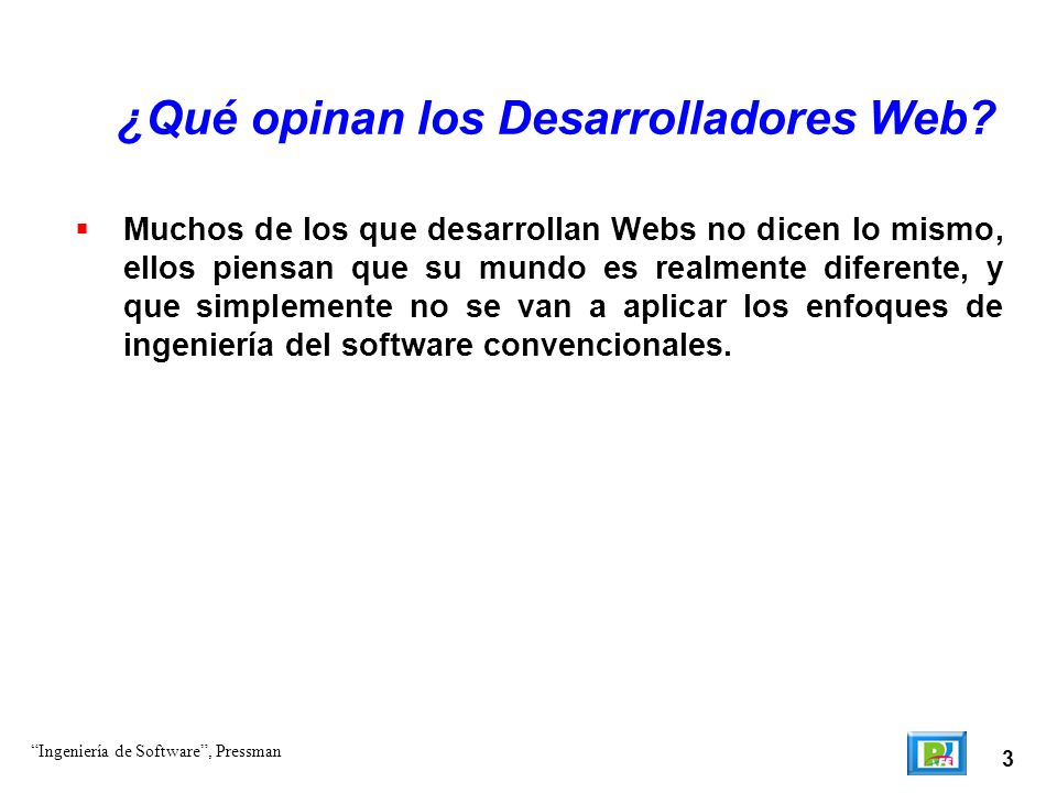¿Qué opinan los Desarrolladores Web