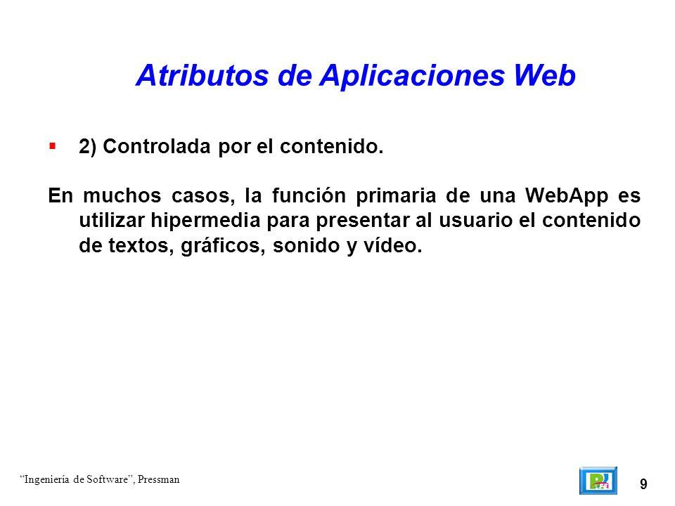 Atributos de Aplicaciones Web