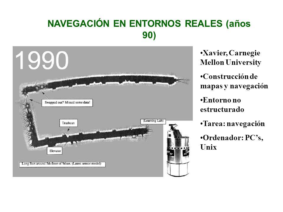 NAVEGACIÓN EN ENTORNOS REALES (años 90)
