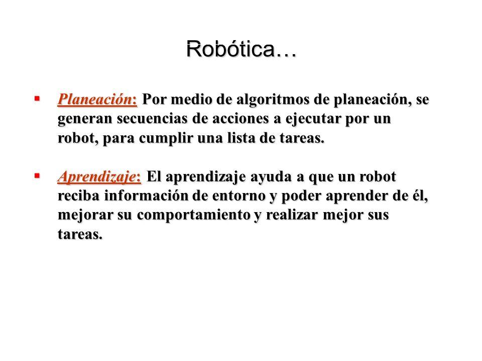 Robótica…