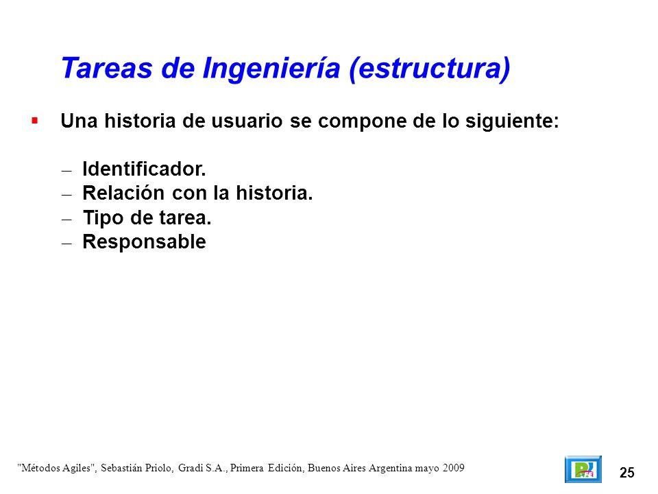 Tareas de Ingeniería (estructura)