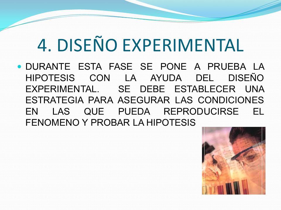 4. DISEÑO EXPERIMENTAL
