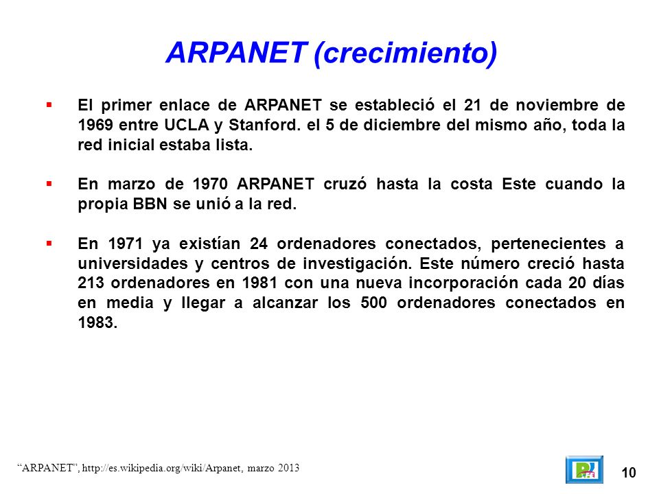 ARPANET (crecimiento)