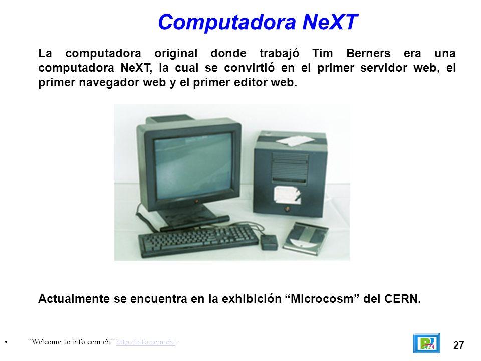 Computadora NeXT