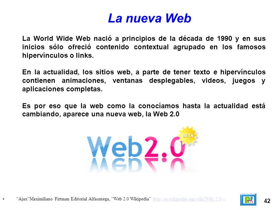 La nueva Web