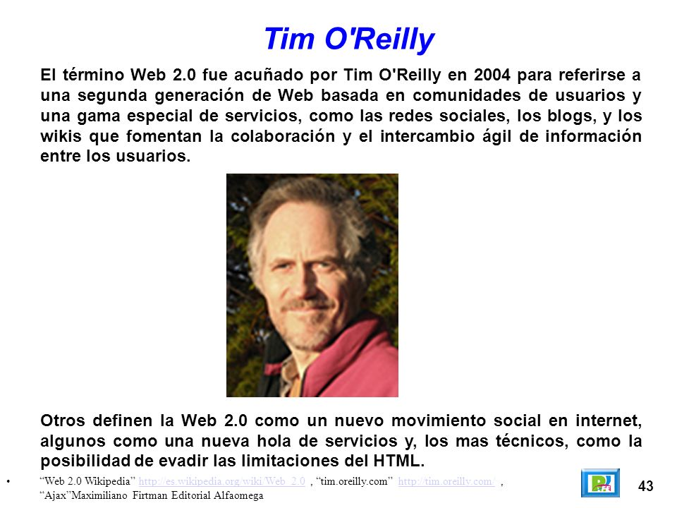 Tim O Reilly