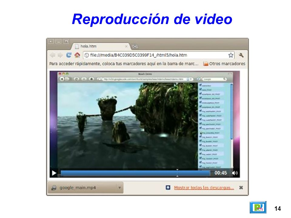 Reproducción de video 14