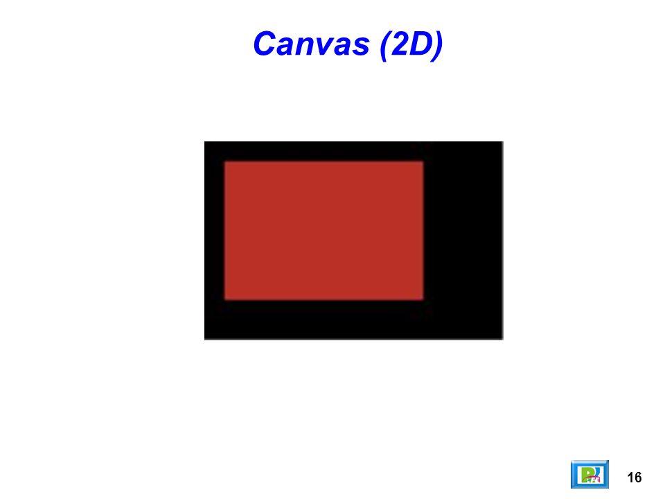 Canvas (2D) 16