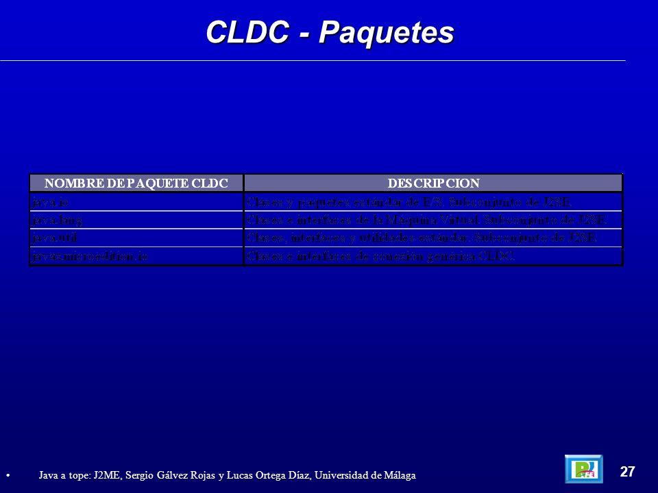 CLDC - Paquetes 27.