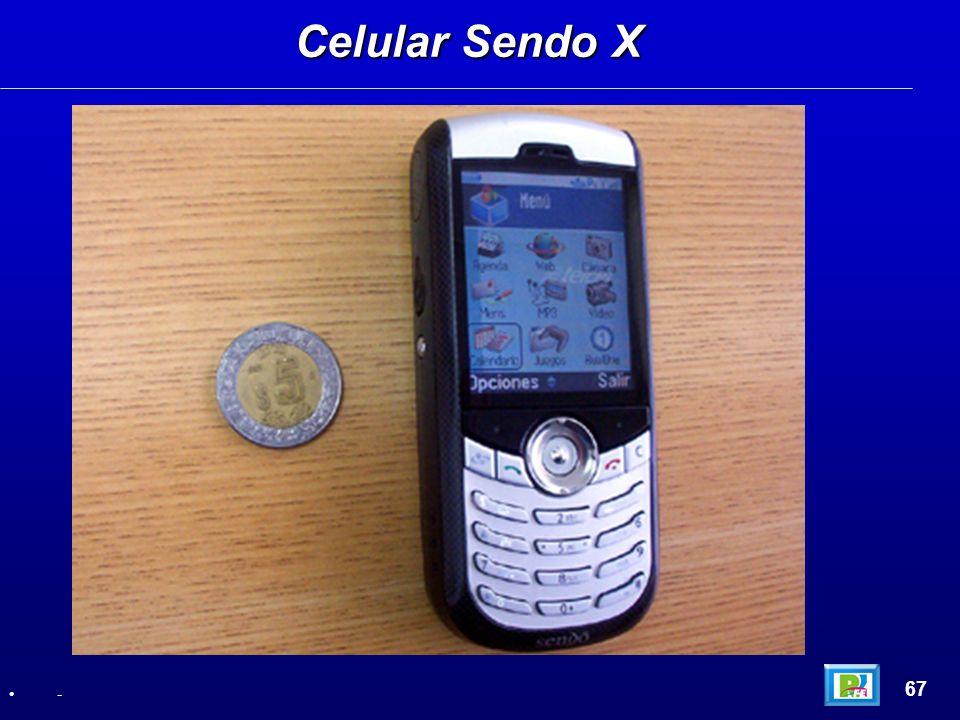Celular Sendo X 67 -