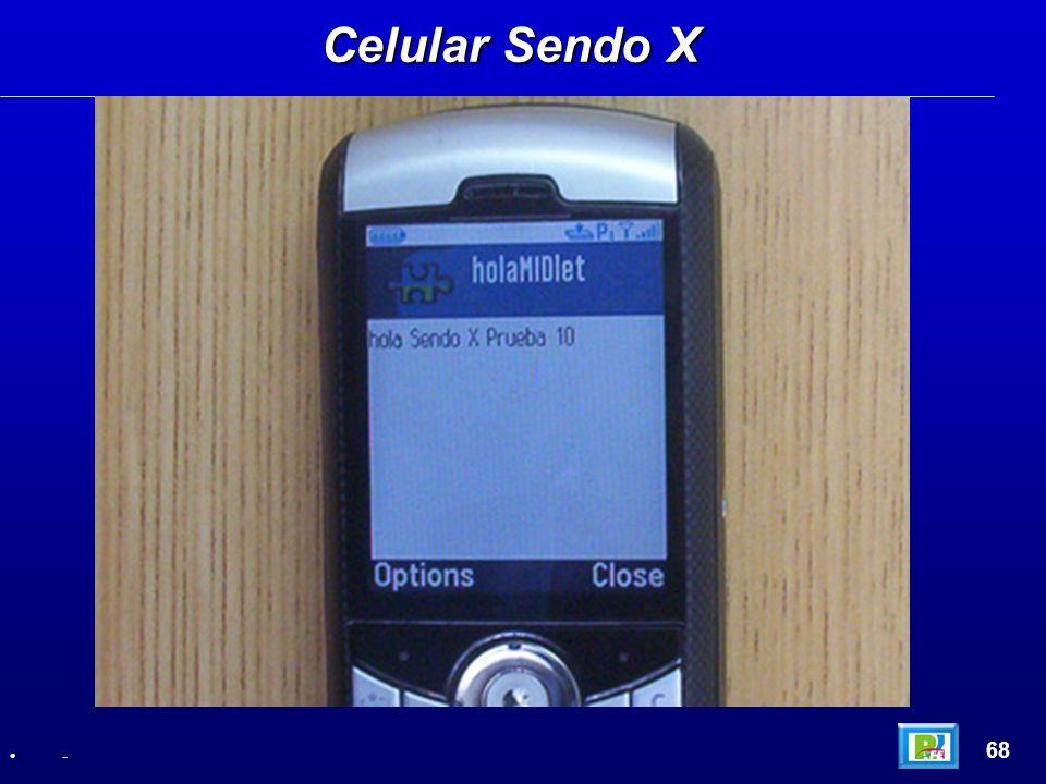 Celular Sendo X 68 -