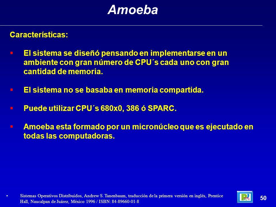 Amoeba Características: