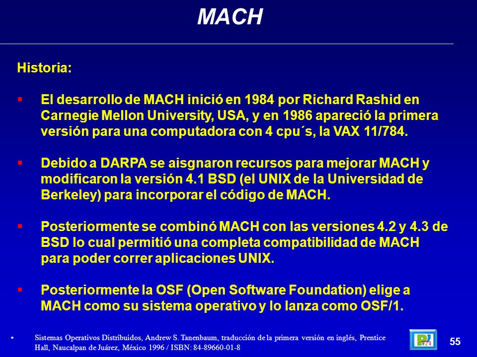 MACHHistoria: