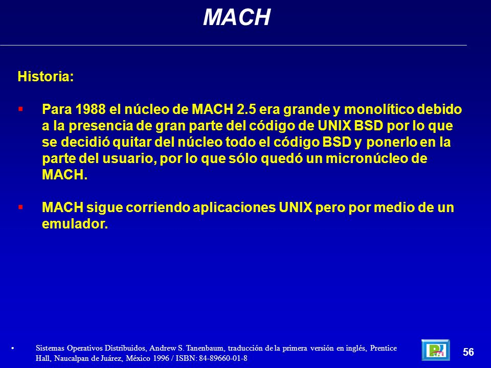 MACH Historia: