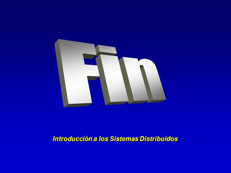 Introducción a los Sistemas Distribuidos